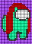 Alpha pattern #74023