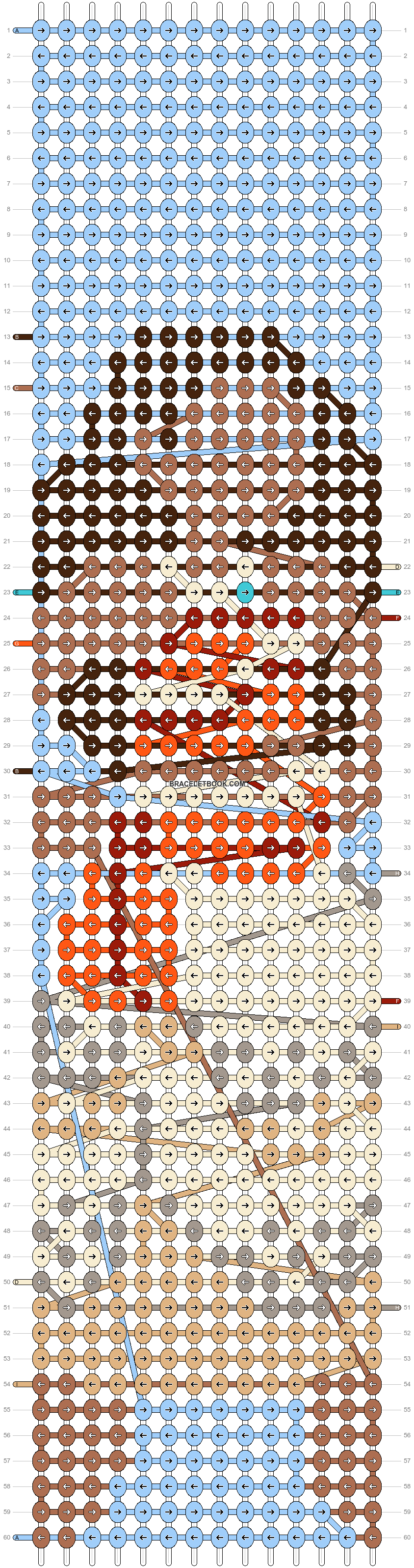 Alpha pattern #74028 pattern