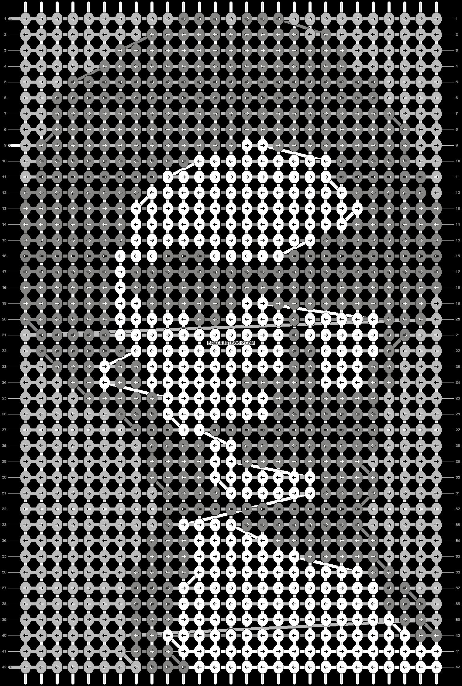 Alpha pattern #74061 pattern