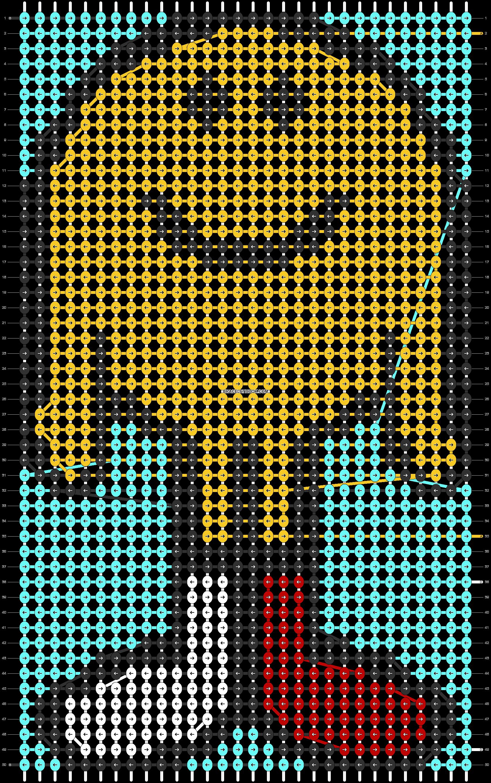 Alpha pattern #74062 pattern