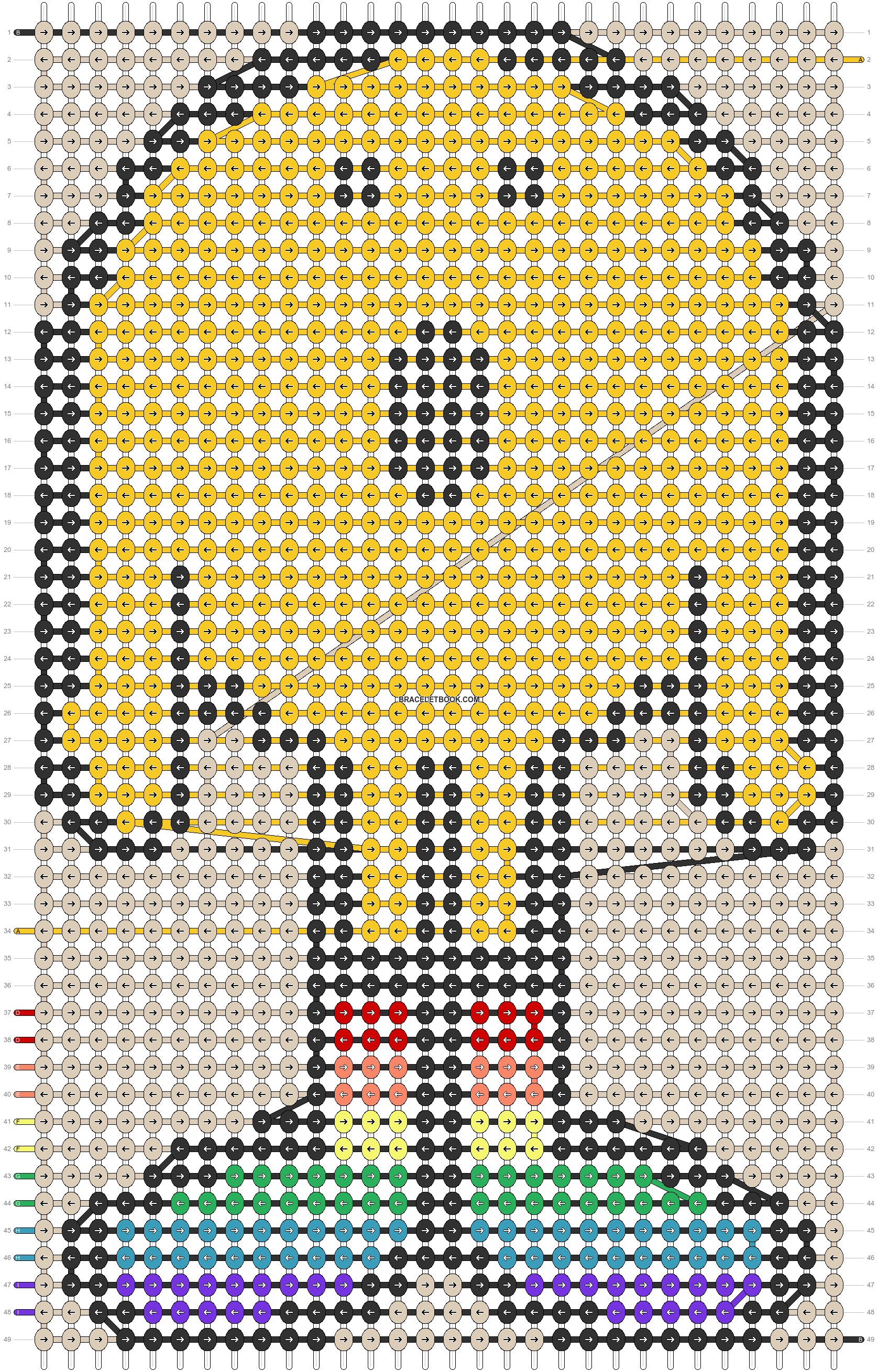 Alpha pattern #74063 pattern