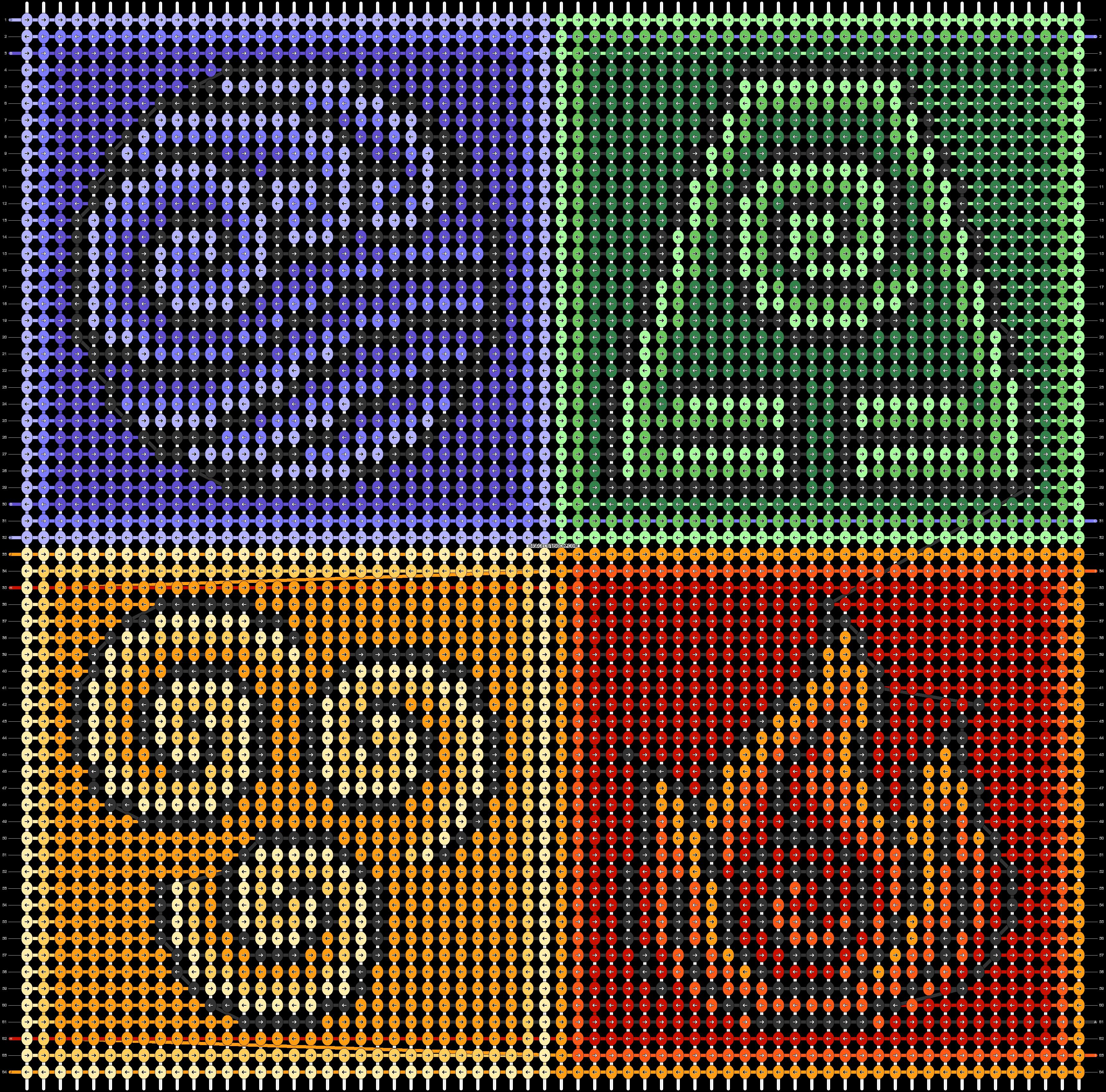 Alpha pattern #74068 pattern