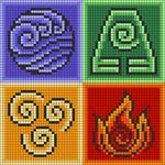 Alpha pattern #74068