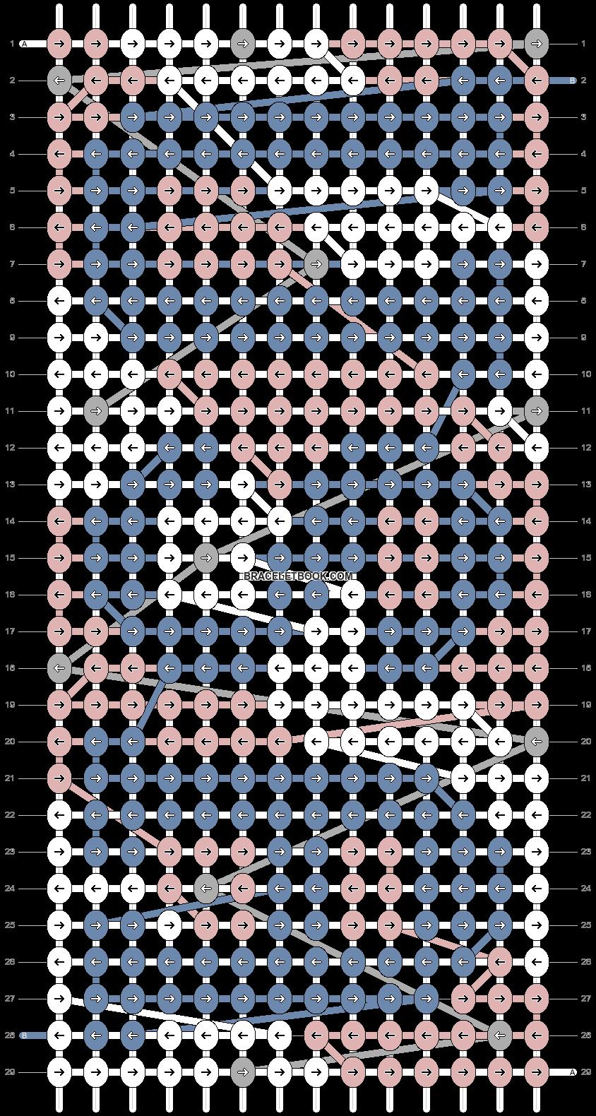 Alpha pattern #74096 pattern