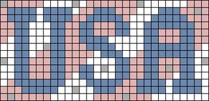 Alpha pattern #74096