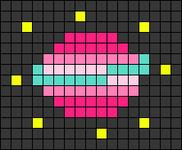 Alpha pattern #74124