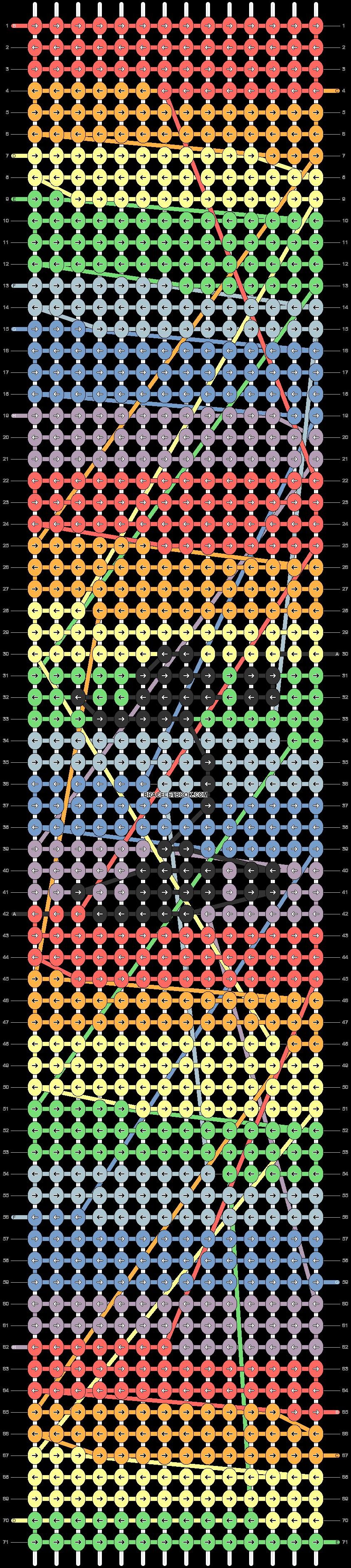 Alpha pattern #74127 pattern