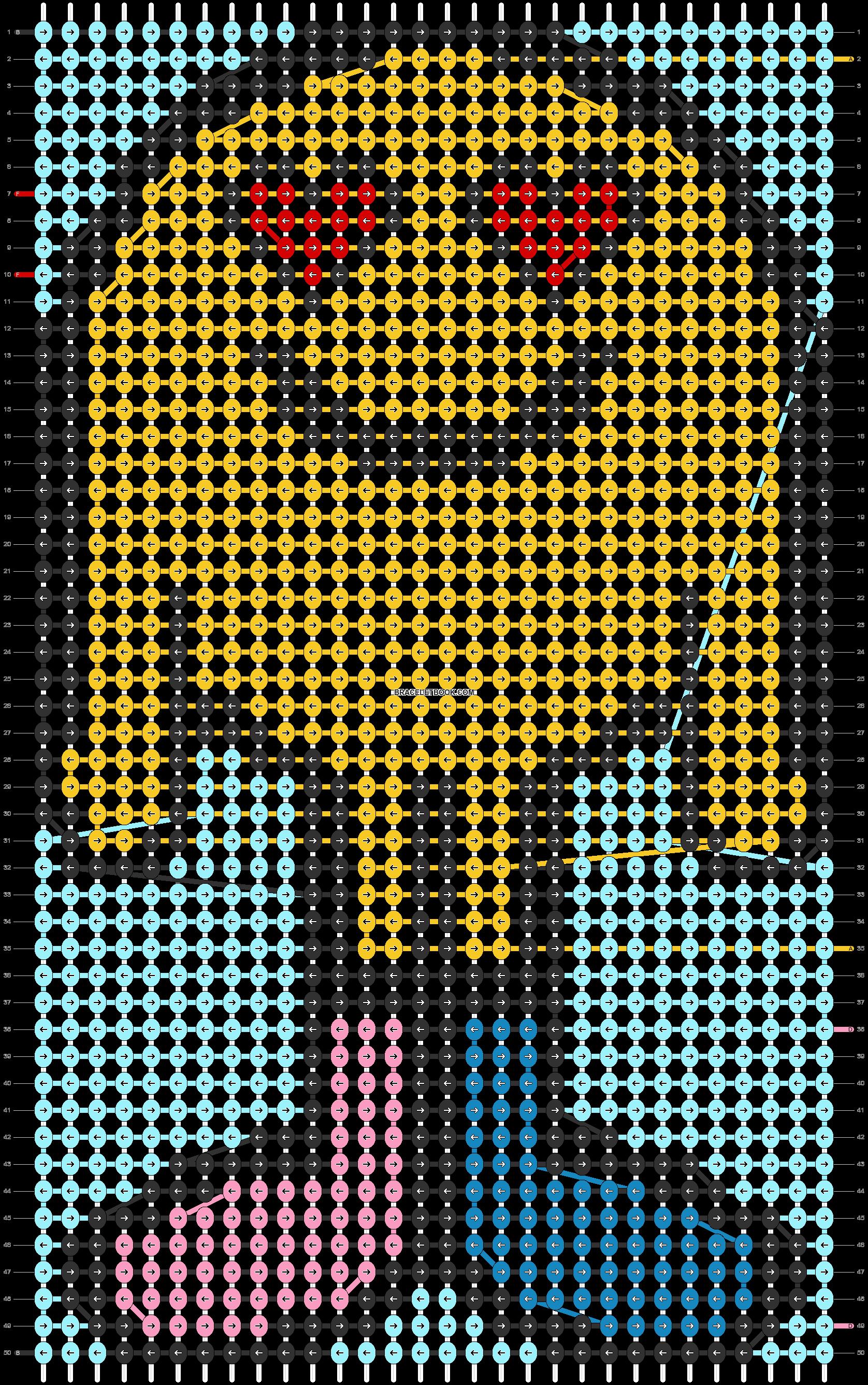 Alpha pattern #74213 pattern