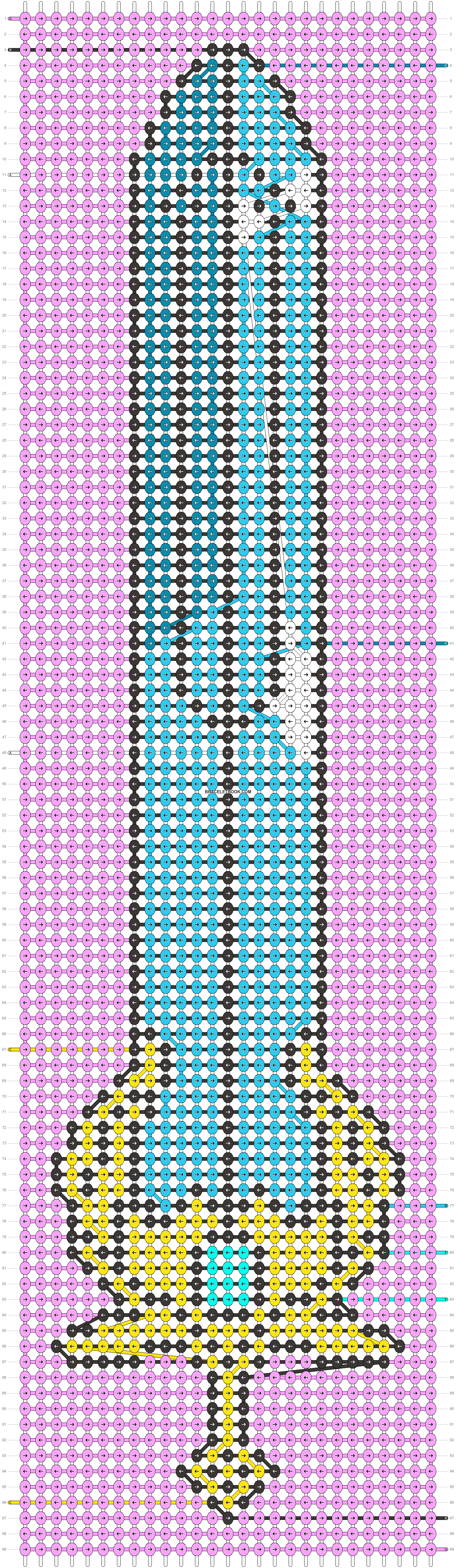 Alpha pattern #74278 pattern