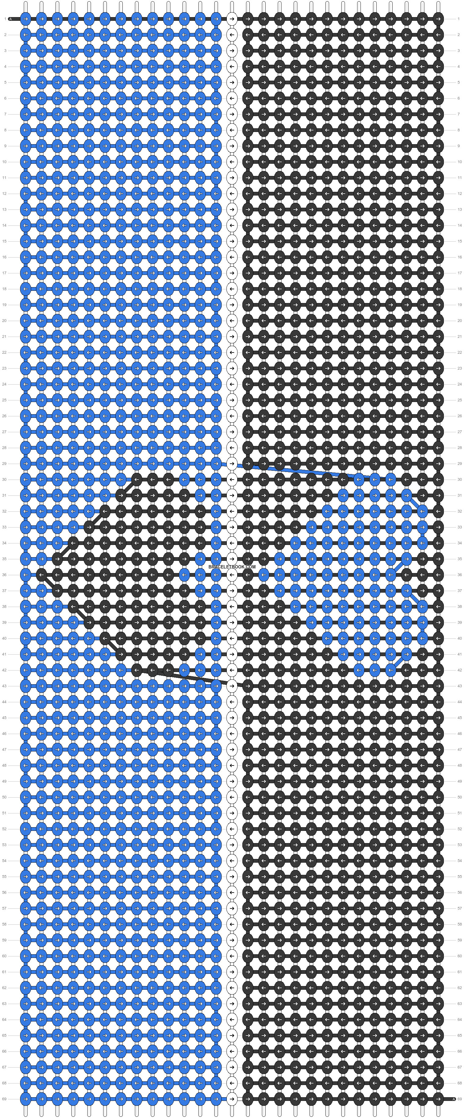 Alpha pattern #74287 pattern