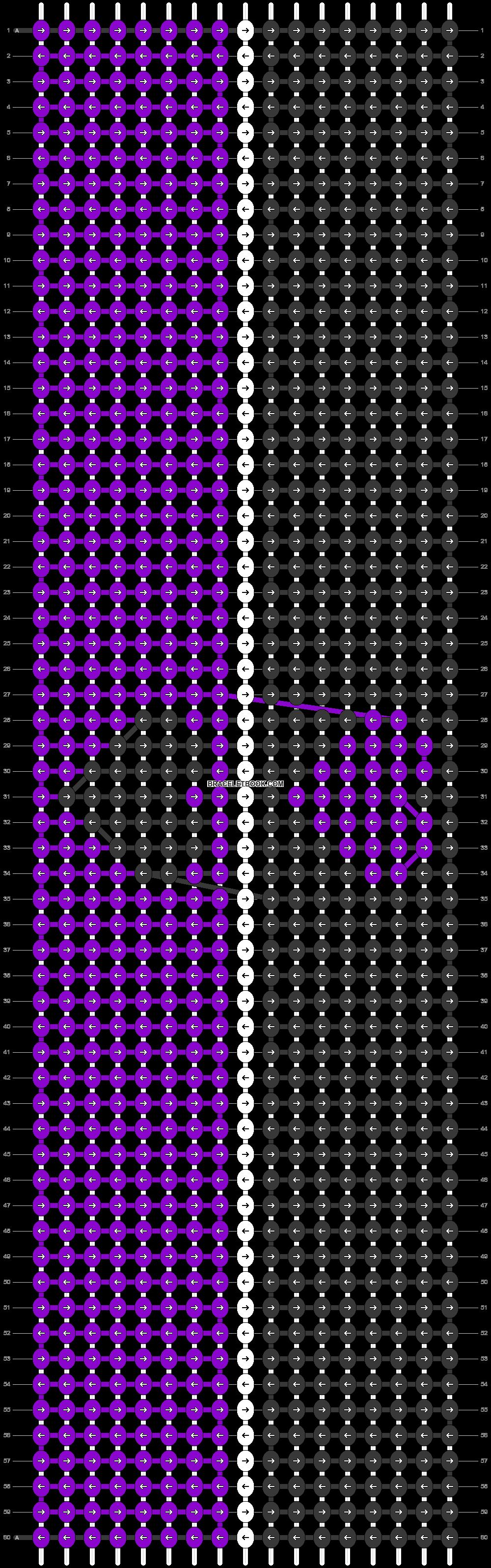 Alpha pattern #74289 pattern