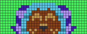 Alpha pattern #74300