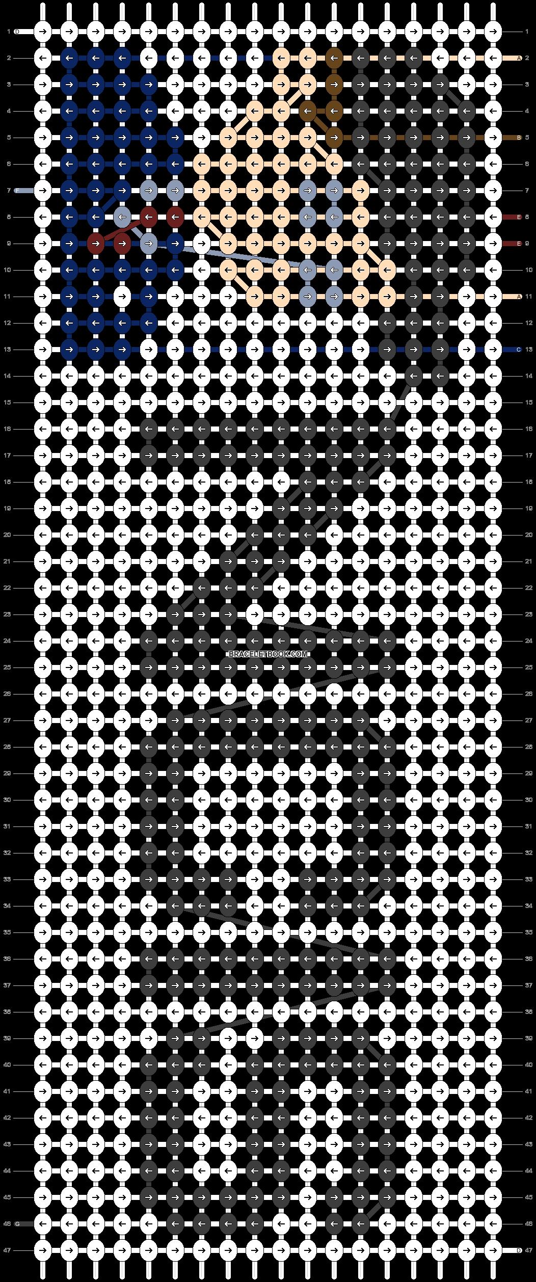 Alpha pattern #74307 pattern