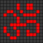 Alpha pattern #74308