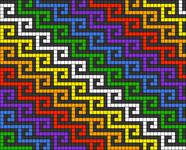 Alpha pattern #74348