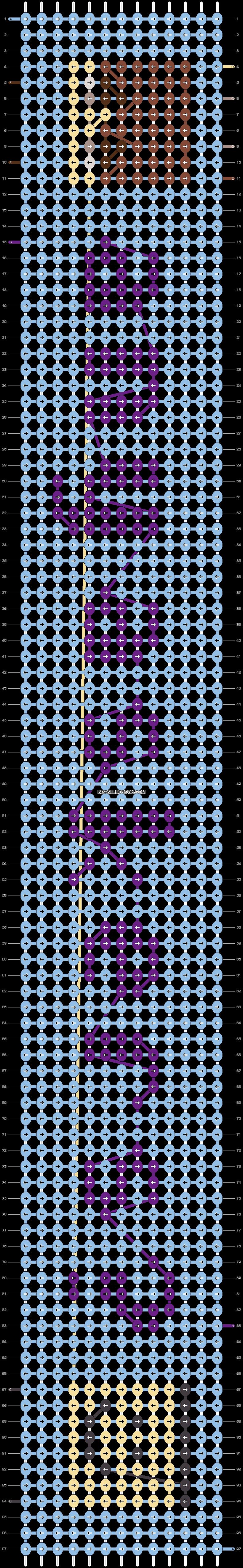 Alpha pattern #74360 pattern