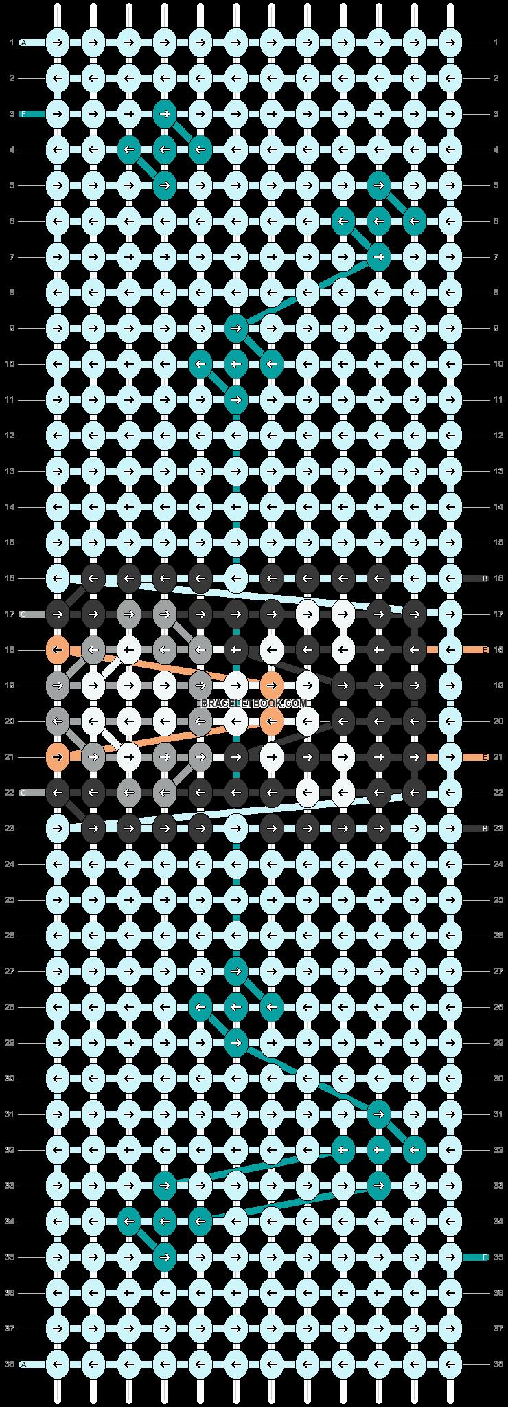 Alpha pattern #74378 pattern
