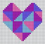 Alpha pattern #74437