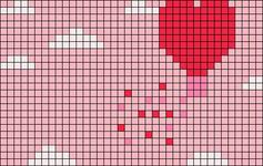 Alpha pattern #74440