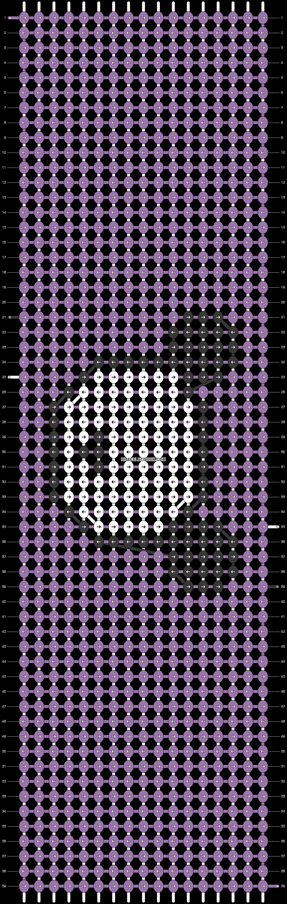 Alpha pattern #74443 pattern