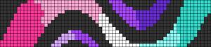 Alpha pattern #74454