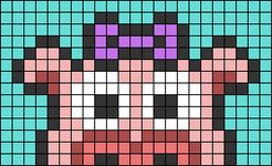 Alpha pattern #74464