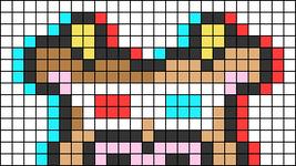 Alpha pattern #74465