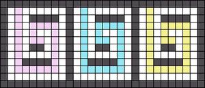 Alpha pattern #74473
