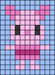 Alpha pattern #74485