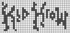 Alpha pattern #74487