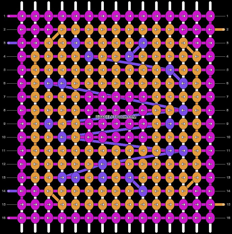 Alpha pattern #74534 pattern