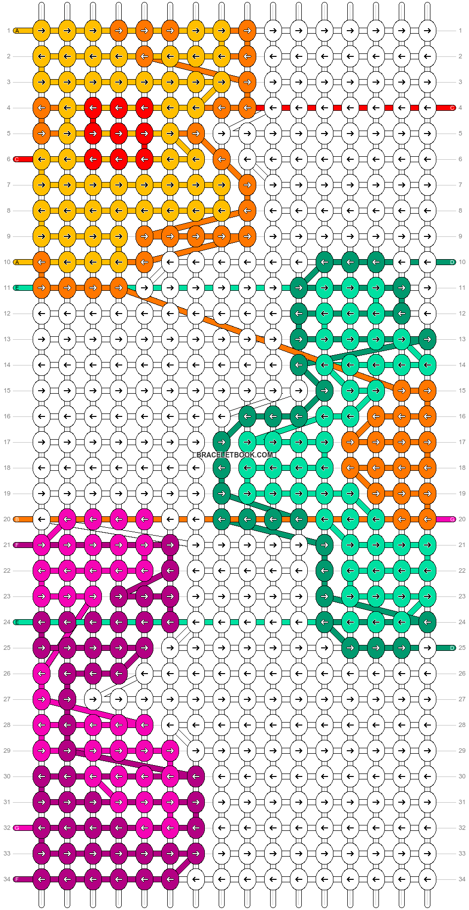 Alpha pattern #74574 pattern