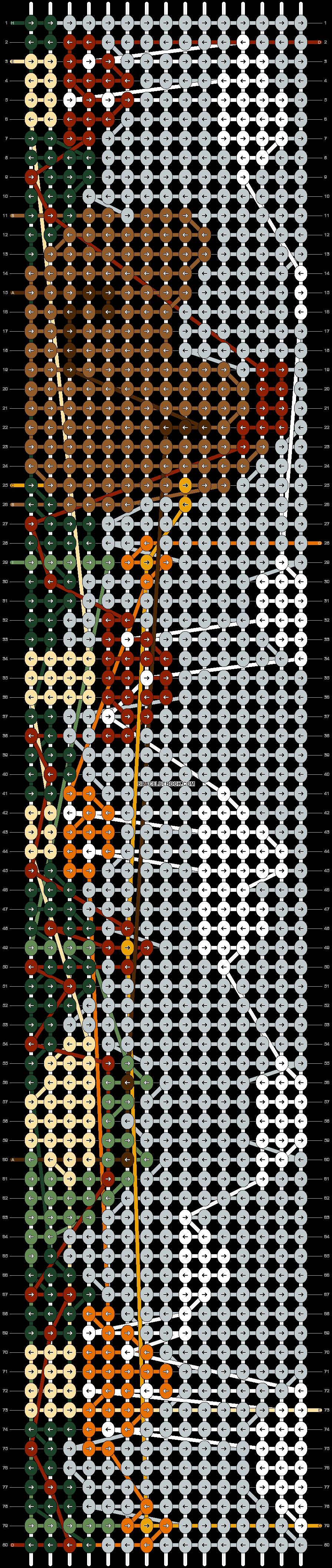 Alpha pattern #74595 pattern