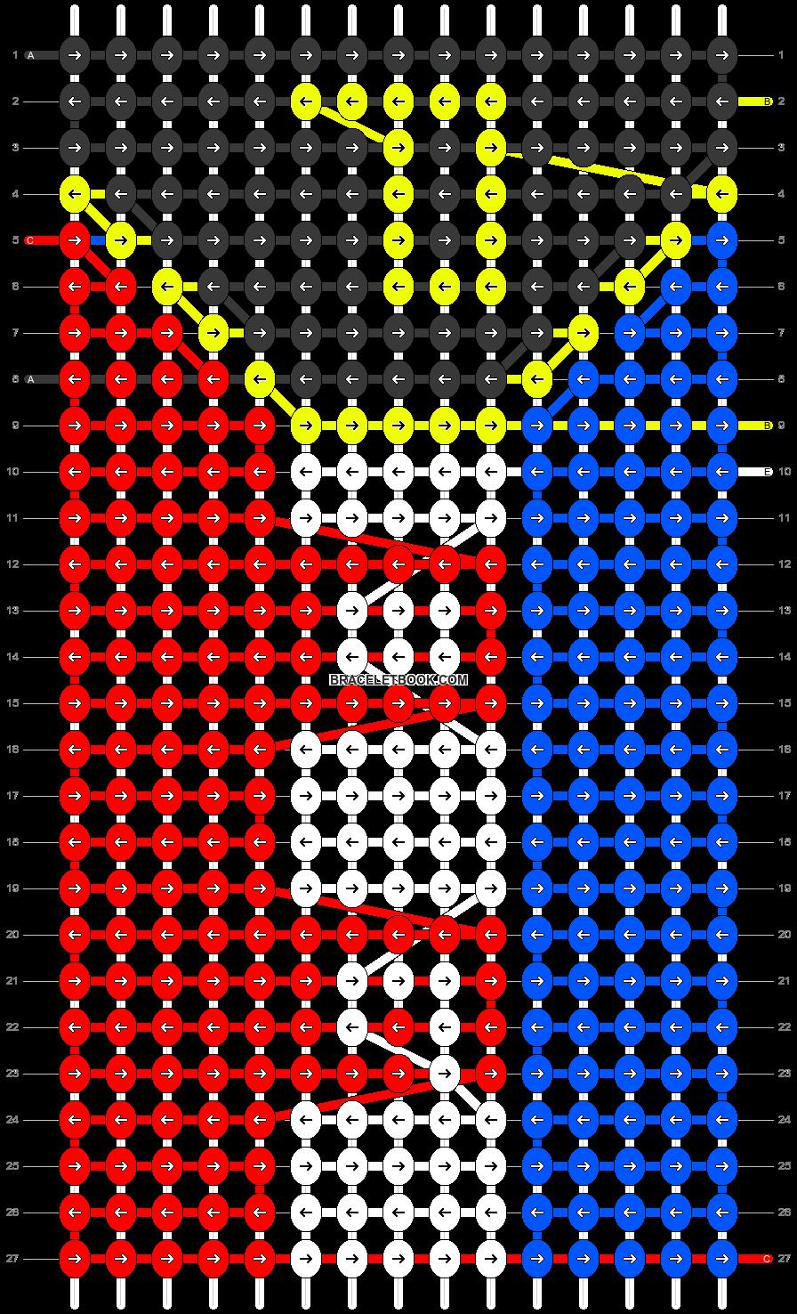Alpha pattern #74630 pattern