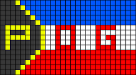 Alpha pattern #74630