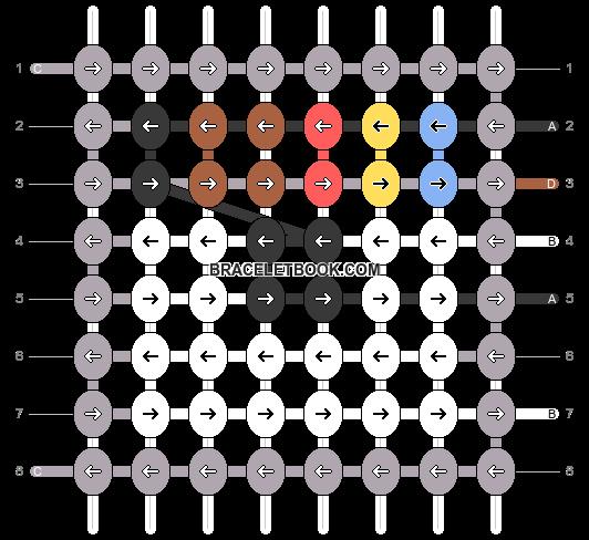 Alpha pattern #74637 pattern