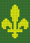 Alpha pattern #74640