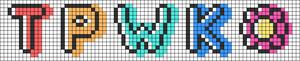 Alpha pattern #74643