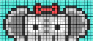Alpha pattern #74645