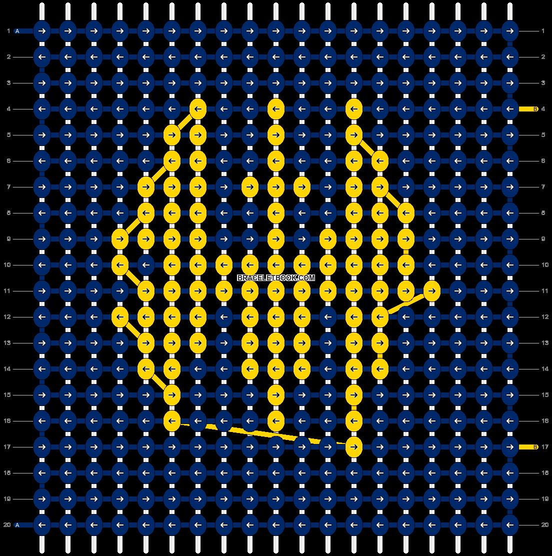 Alpha pattern #74726 pattern