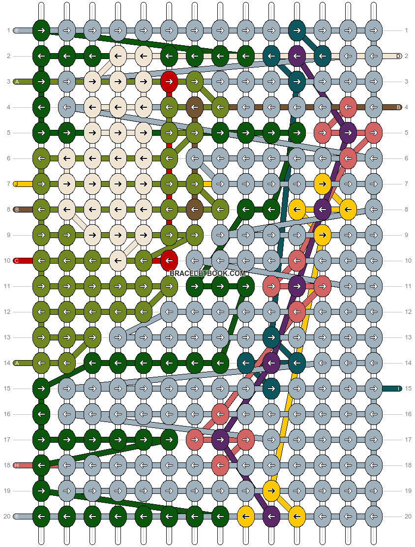 Alpha pattern #74743 pattern