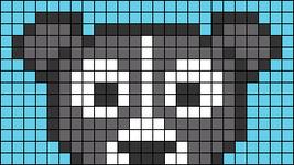 Alpha pattern #74746