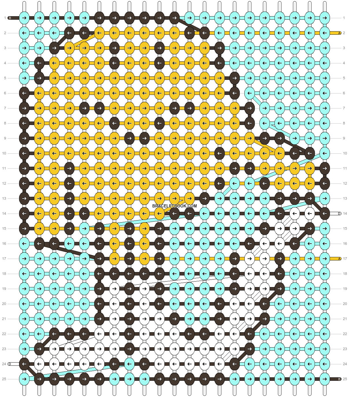 Alpha pattern #74801 pattern