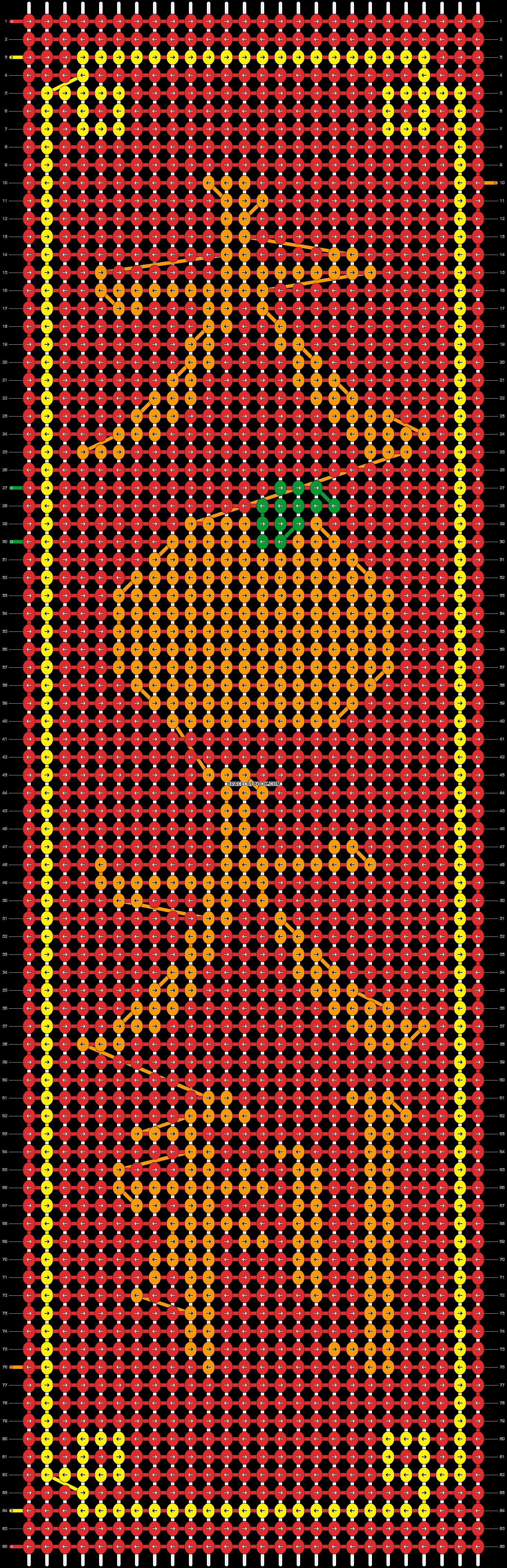 Alpha pattern #74812 pattern