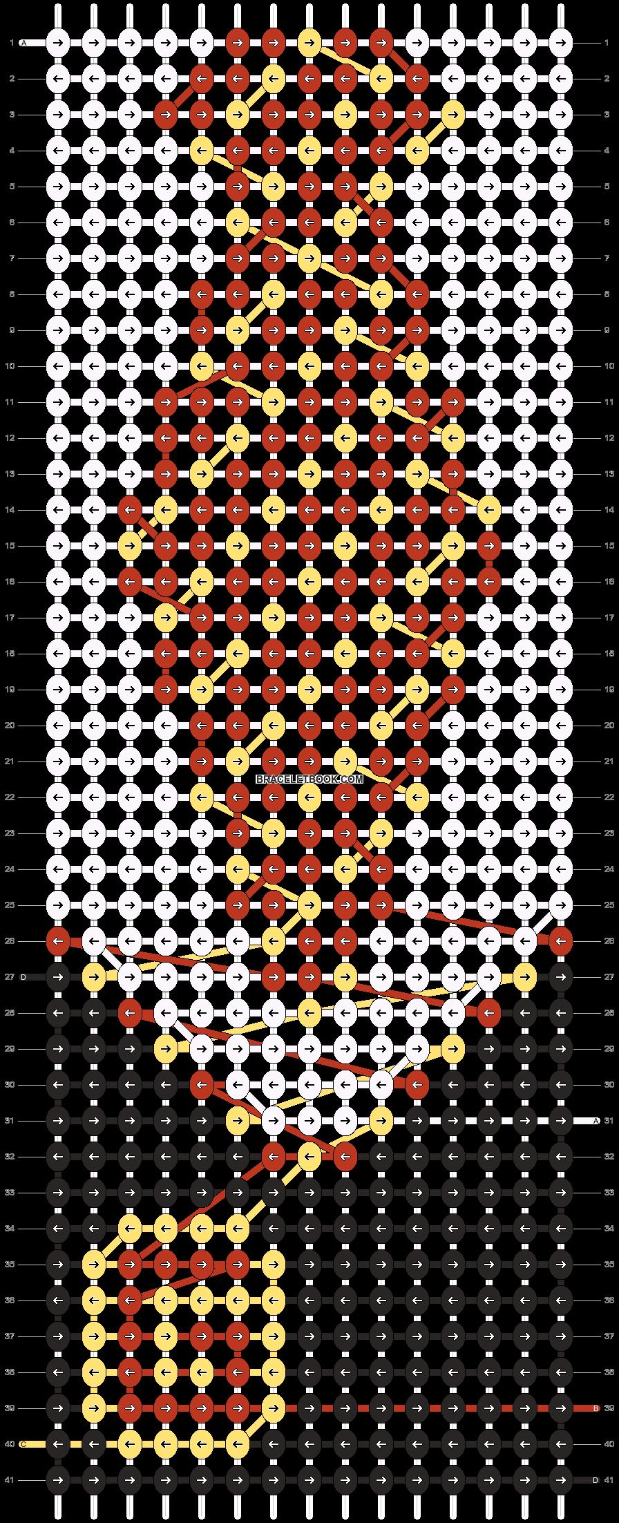 Alpha pattern #74814 pattern
