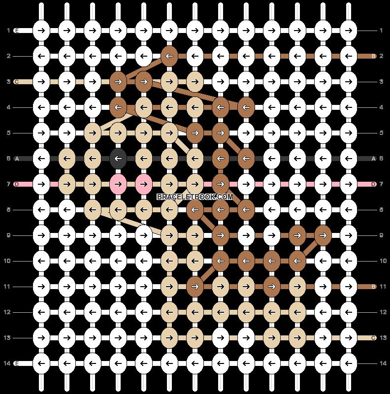 Alpha pattern #74834 pattern