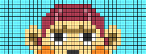 Alpha pattern #74835