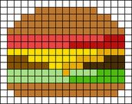 Alpha pattern #74836