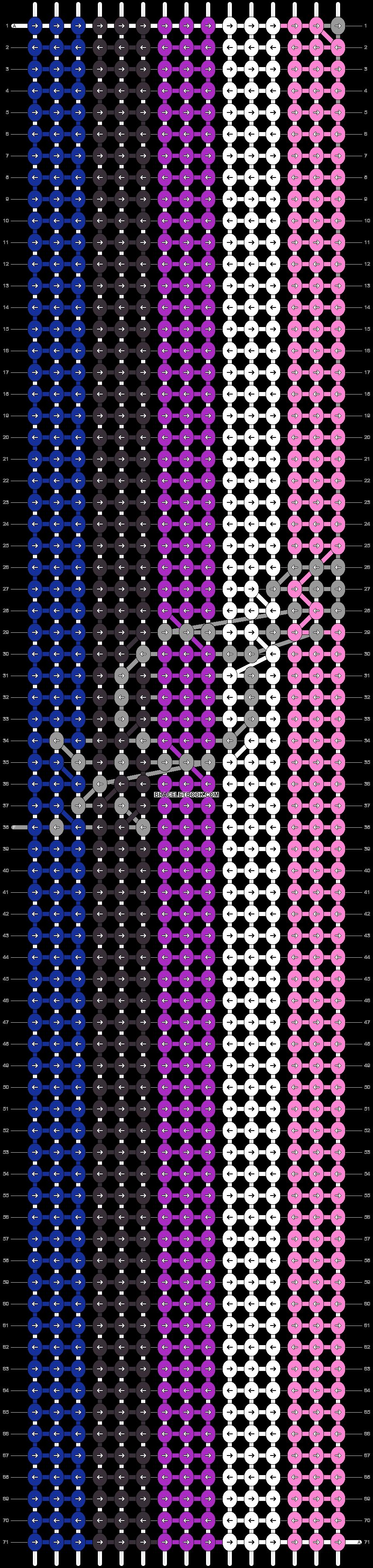 Alpha pattern #74853 pattern