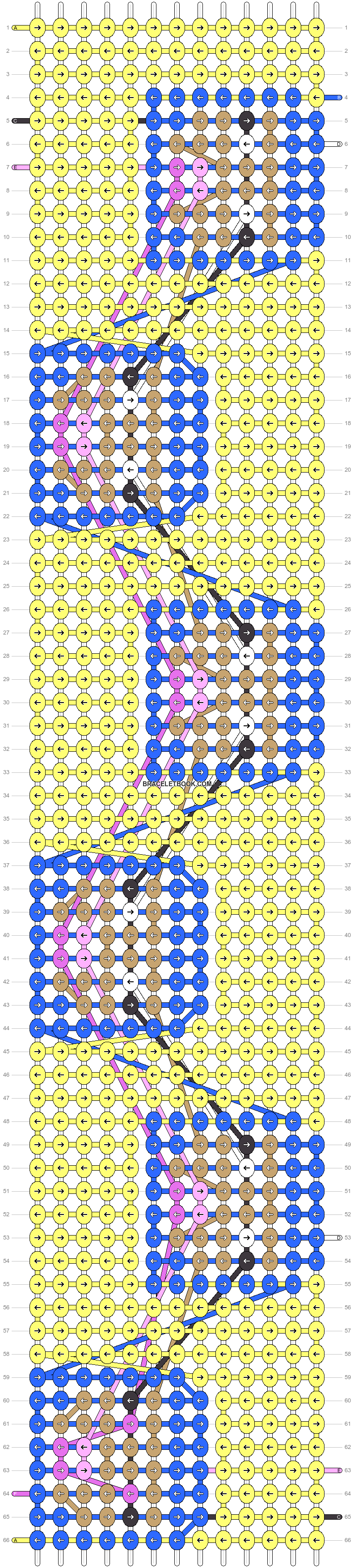 Alpha pattern #74854 pattern